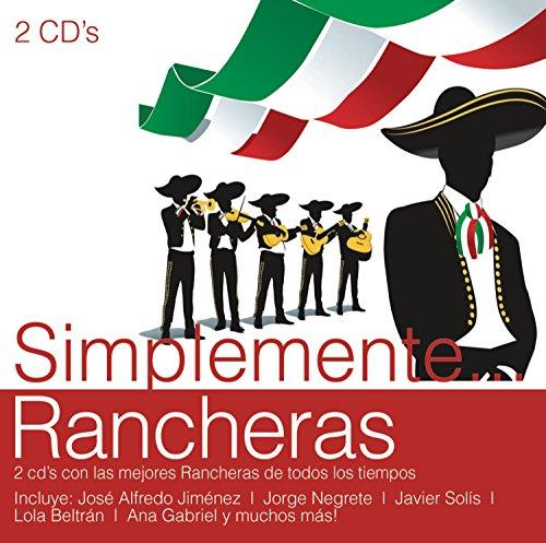 Various-Artists-Simplemente-Rancheras-CD-New